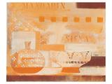 Terra Mandarin Siena Print by Anna Flores