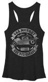 Juniors Tank Top: Gas Monkey- Banner Finish Womens Tank Tops