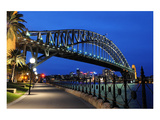 Sydney Harbour Bridge Sidewalk Posters