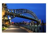 Sydney Harbour Bridge Sidewalk Prints