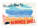 Summer Shell on Sale May 1St Posters