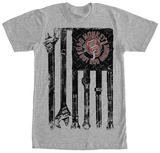 Gas Monkey- Tools And Stripes T-Shirt