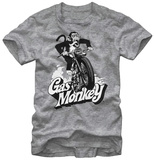Gas Monkey- Speedin Monkey Shirts