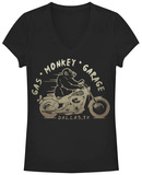 Juniors: Gas Monkey- Vroom Monkey T-shirts