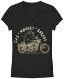 Juniors: Gas Monkey- Vroom Monkey T-shirts