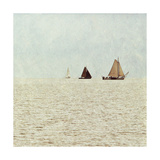 Sail Boats II Poster by Kathy Mansfield
