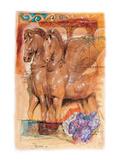 Two Pegassi Prints by  Joadoor