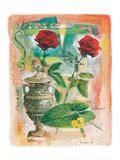 Two Antique Roses Prints by  Joadoor