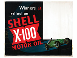 Winners Relied on Shell Print
