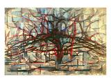 the Gray Tree 1912 Poster av Piet Mondrian
