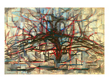 the Gray Tree 1912 Prints by Piet Mondrian