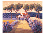 Un Parfum de Lavande Prints by Karsten Kirchner