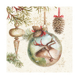 Woodland Holiday III Prints by Lisa Audit