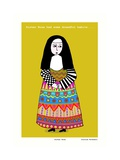 Sister Rosa (Yellow) Giclee Print by Corrina Rothwell