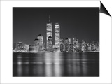 Manhattan, World Financial Center, Night - New York City, Landmarks at Night Posters by Henri Silberman