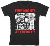 Youth: Five Nights at Freddys- Character T-シャツ