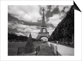 Eiffel Tower Topiary - Paris, France Plakater af Henri Silberman