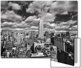 Manhattan Clouds - New York City, Top View, Empire State Building Art by Henri Silberman