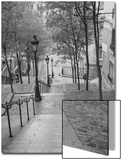 Montmartre Steps 2 - Paris, France Prints by Henri Silberman
