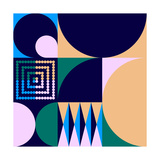 Geo 4 Giclee Print by Greg Mably