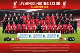Liverpool- Team 15/16 Affiche