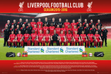 Liverpool- Team 15/16 Poster
