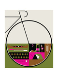 Camp Vibes Giclee Print by Greg Mably