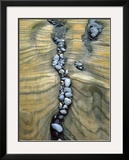 Rocks Caught in Sandstone Formations, Seal Rock Beach, Oregon, USA Framed Photographic Print by  Jaynes Gallery