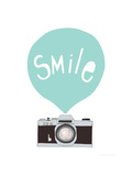 Smile Giclee Print by Seventy Tree