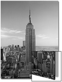 Empire State Building, Fifth Avenue - New York City Iconic Building Prints by Henri Silberman