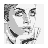 Twiggy Giclee Print by Emily Gray