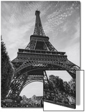 Eiffel Tower from Below - Paris, France Poster by Henri Silberman