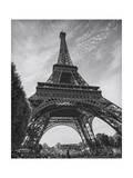 Eiffel Tower from Below - Paris, France Photographic Print by Henri Silberman