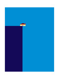Cliff Giclee Print by Greg Mably