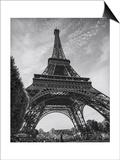 Eiffel Tower from Below - Paris, France Prints by Henri Silberman