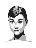 Audrey Giclee Print by Emily Gray