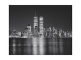 Manhattan, World Financial Center, Night - New York City, Landmarks at Night Photographic Print by Henri Silberman