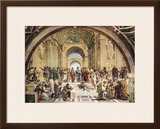 Stanza Della Segnatura: the School of Athens Art by  Raphael