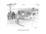 """Am I getting warmer"" - New Yorker Cartoon Giclee Print by Zachary Kanin"