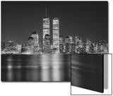 Henri Silberman - Manhattan, World Financial Center, Night - New York City, Landmarks at Night Plakát