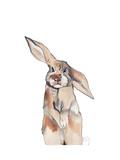 Bemy Bunny Giclee Print by Nina Dogmetchi