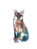 Spirit Fox Giclee Print by Nina Dogmetchi