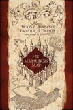 Harry Potter- Marauder's Map Plakát