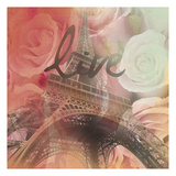 Eiffel Live Prints by Victoria Brown