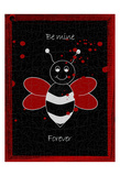 Forever Bee Prints by Sheldon Lewis