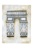 Triomphe Scroll Prints by Pam Varacek