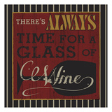 Wine Glass Posters by Melody Hogan