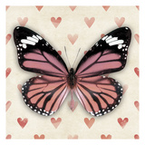 Pink Butterfly Prints