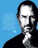 Steve Jobs- Quote Kunstdruck