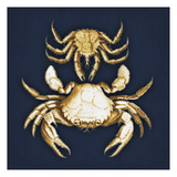 Crabs Navy Posters by Jace Grey